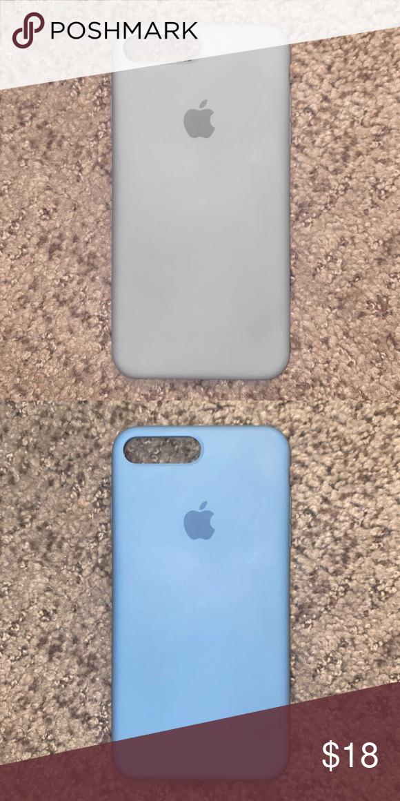Apple Iphone 8 Plus Silicone Case Apple Iphone 8 Plus Silicone Case Color Azure Second Picture Accessories Phone Cases Iphone 8 Plus Apple Iphone Iphone 8