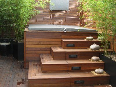 a jacuzzi is a perfect addition to your backyard coupled with functionality and aesthetics - Hot Tub Design Ideas