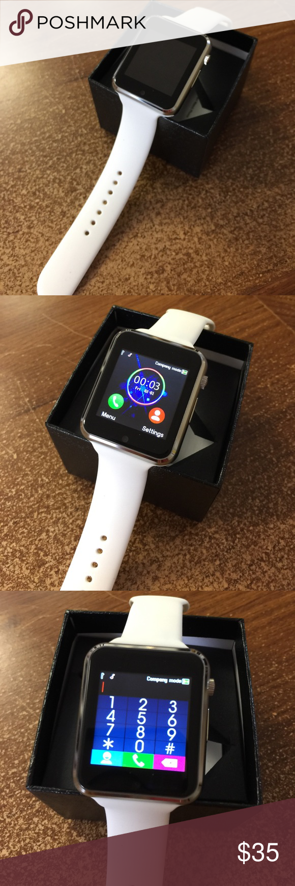 Smart watch for an Android device. Smart watch for an