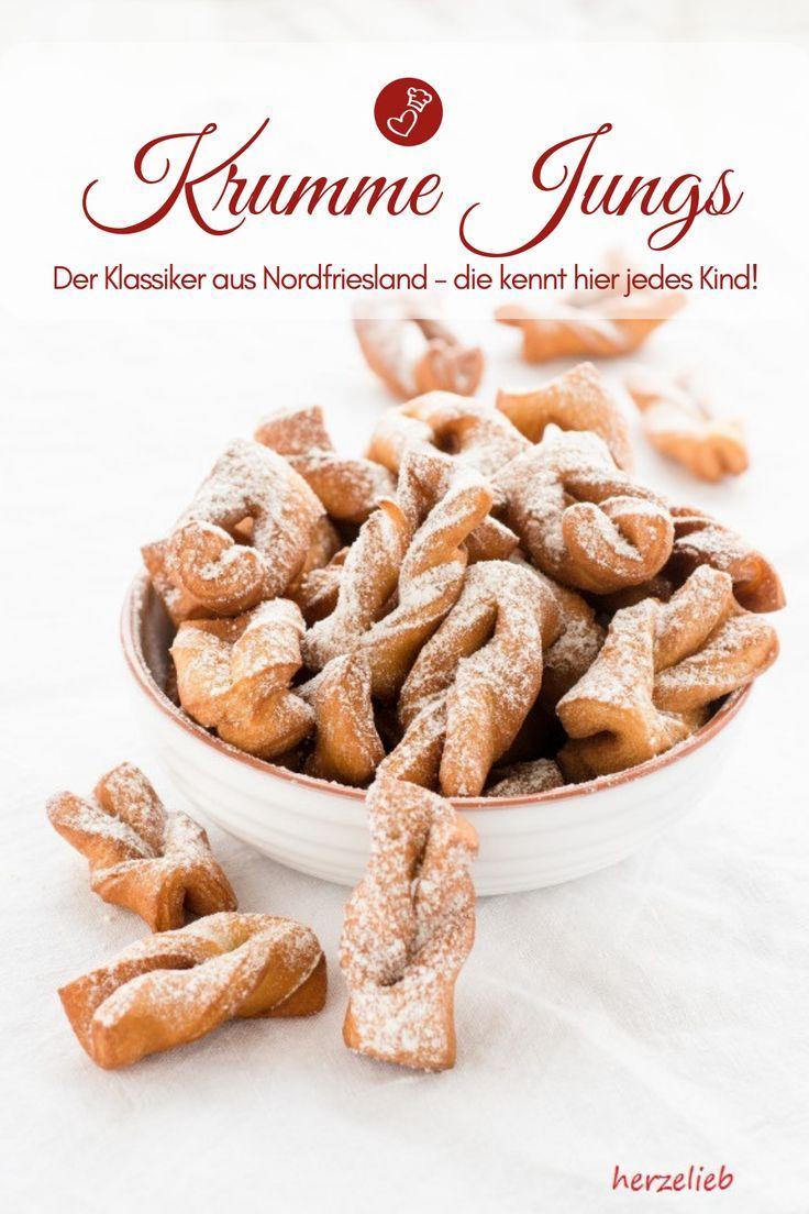 Photo of Rezept für Krumme Jungs oder Verdreihte- Fettgebackene Kekse aus Nordfriesland