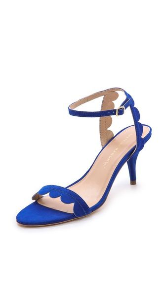 Scalloped Sandals 25 Off With The Shopbop Sale Heels Kitten Heels Kitten Heel Sandals