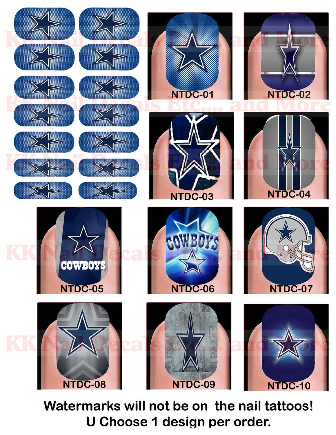 Best+Dallas+Cowboys+Nail+Designs | English (US) | Nail It UP ...