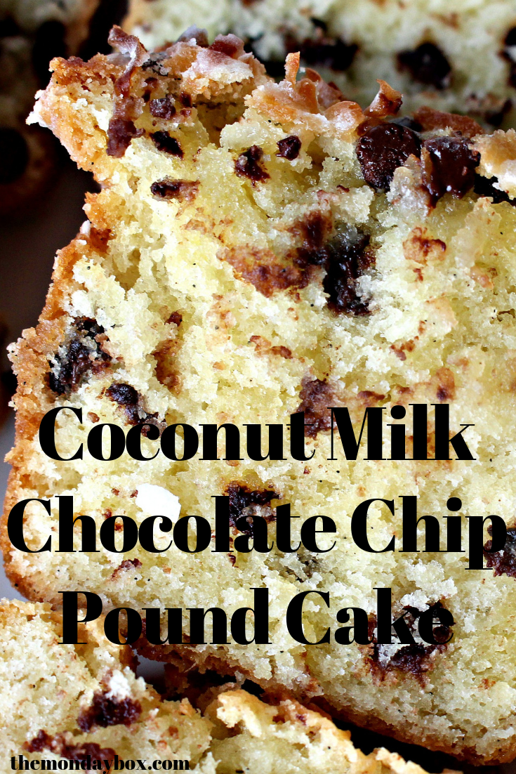 Coconut Milk Pound Cake