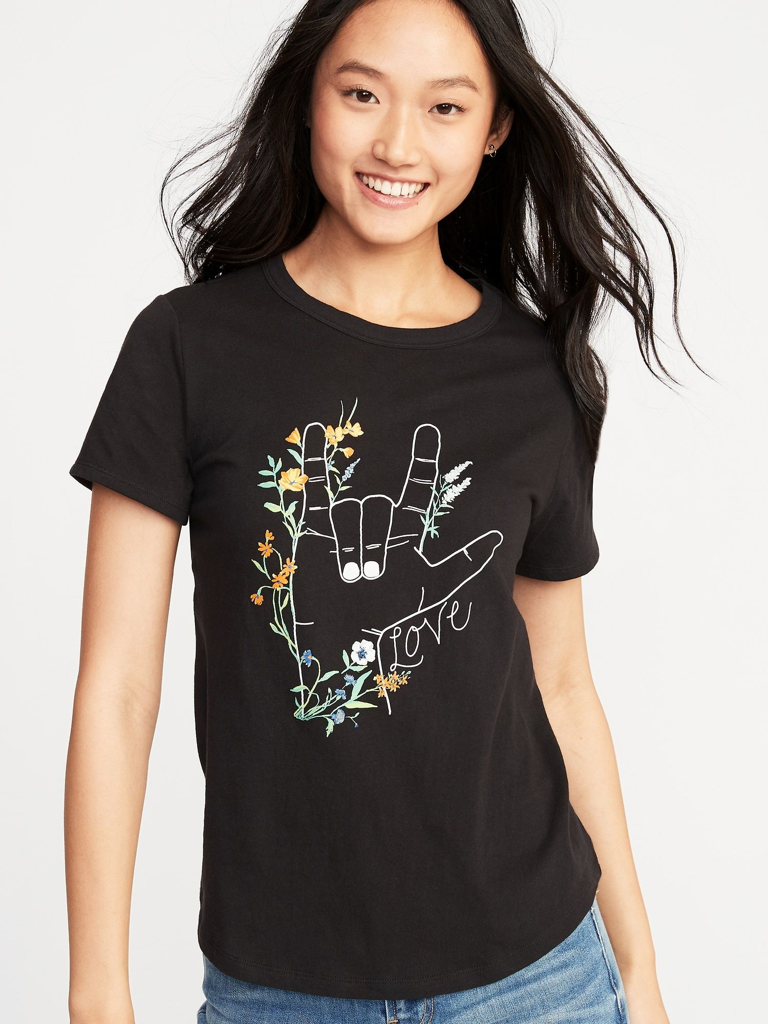 290798da1fa EveryWear Graphic Tee for Women in 2019