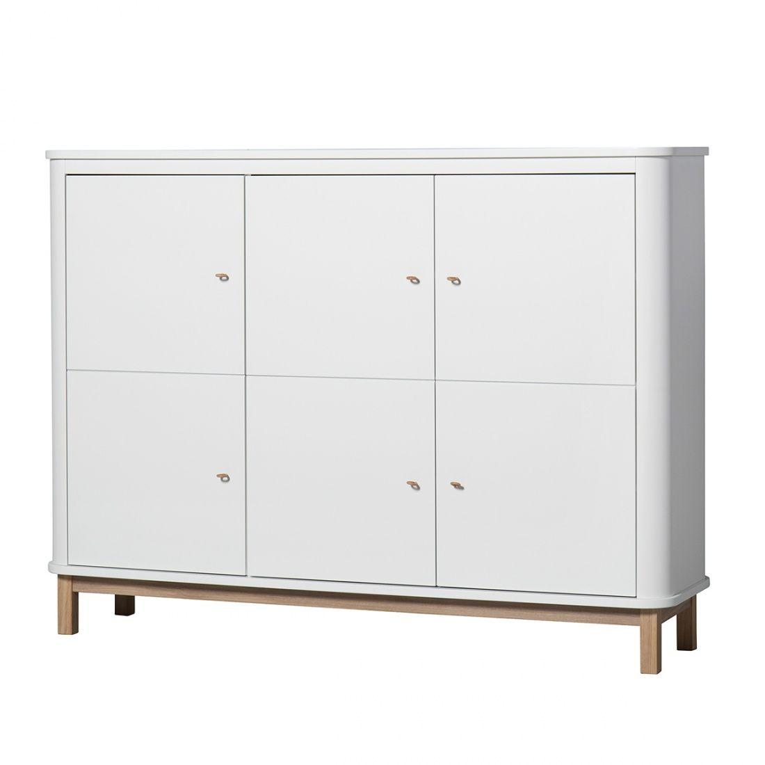 Armoire Basse 3 Portes Wood Oliver Furniture File Dans Ta