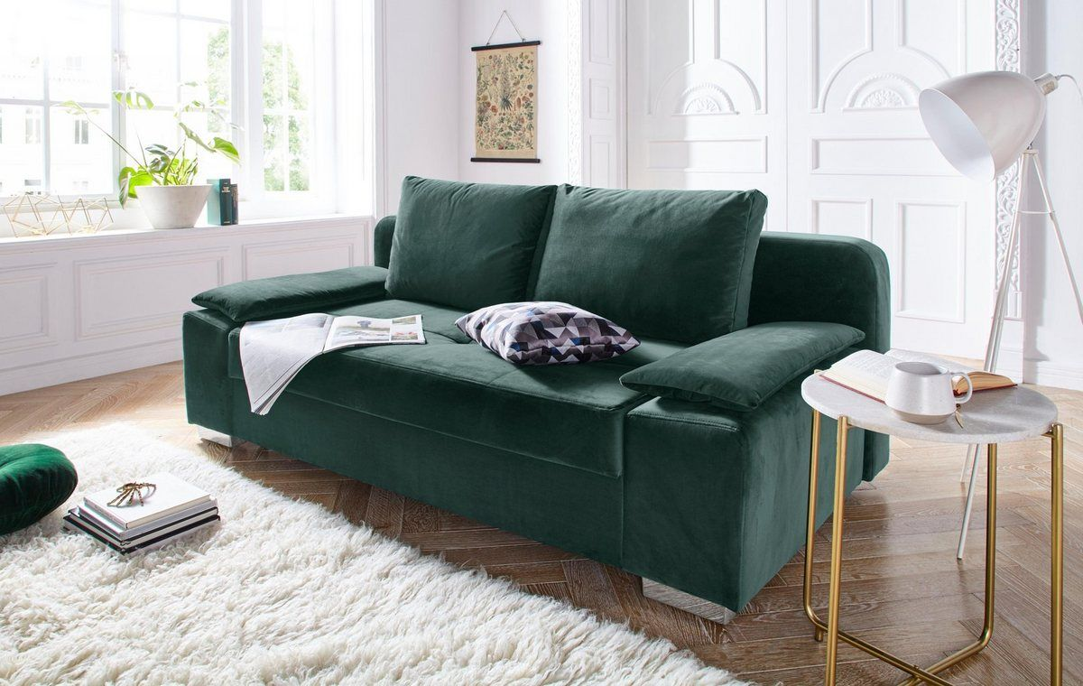 Schlafsofa Landhausstil Mit Bettkasten - Bettsofas Landhausstil