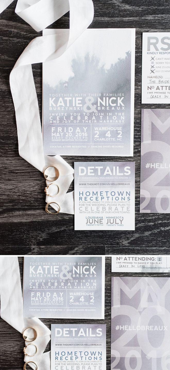 DIY Wedding Invitation SetWedding InvitationsCreative DIY