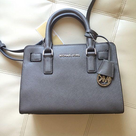 Bag · Michael Kors Dillon Saffiano Leather Satchel ...