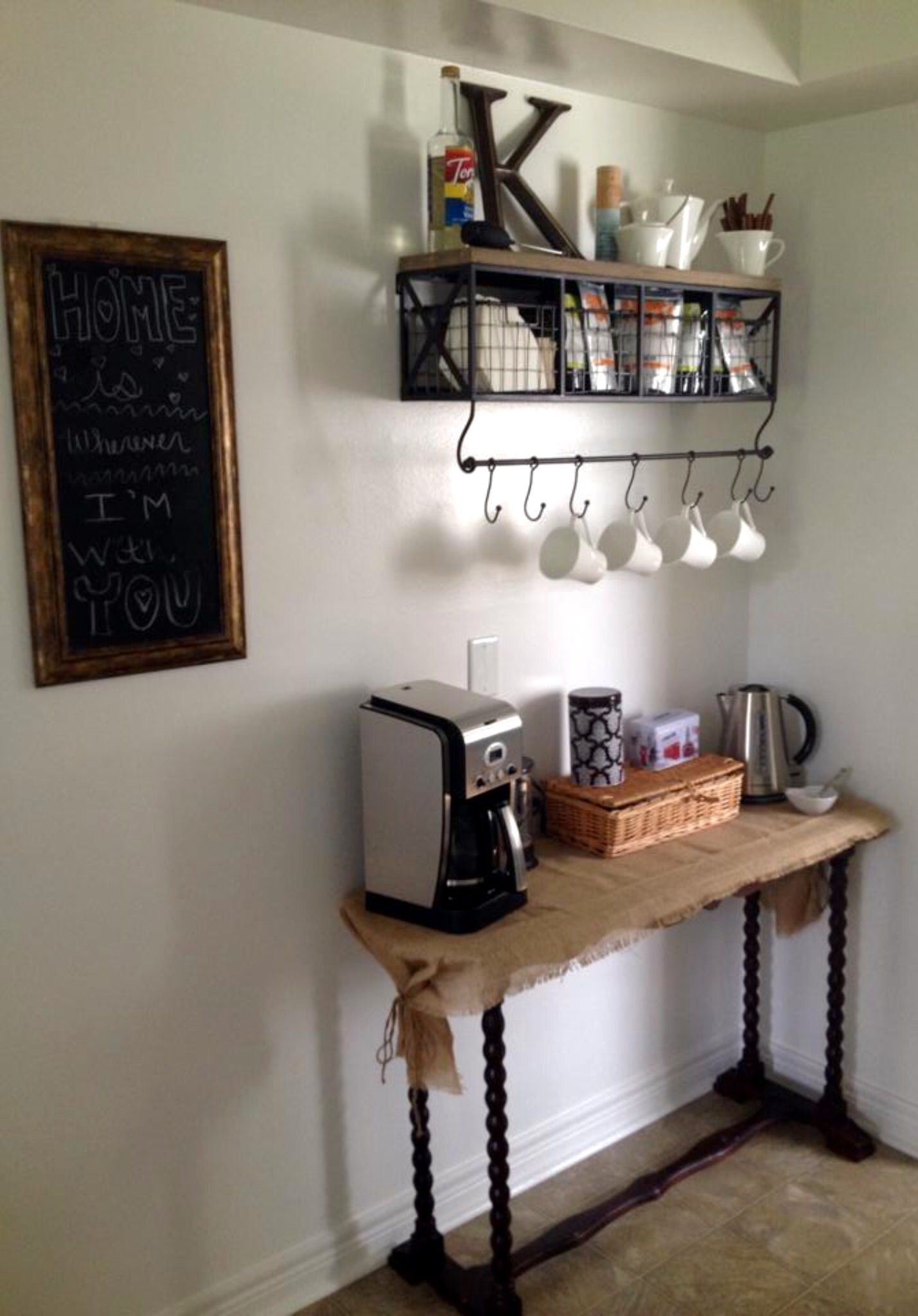 Coffee Bar Ideas Kitchen Small For Office Design Table Sign