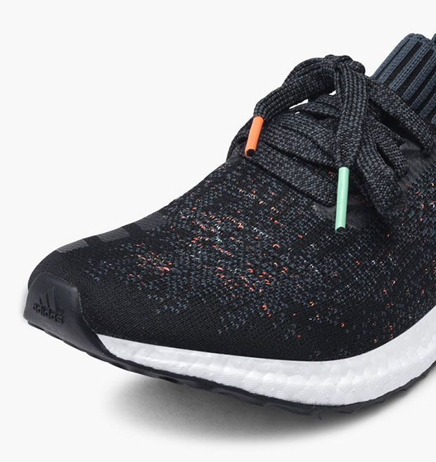 best website 1eb59 5a379 The adidas Ultra Boost Uncaged Multi Color Women 39 s exclusive (Style  Code  BA9796) is now available featuring Core Black and orange and teal  speckles.