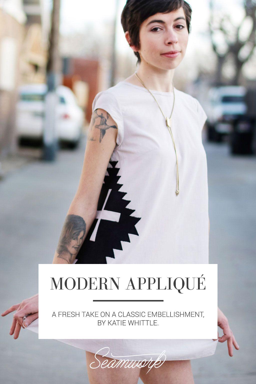 Modern Appliqué   Seamwork Magazine