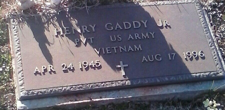 My dads headstone