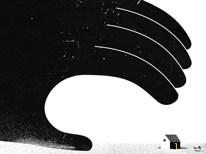 'The big wave III'. Stampa d'Arte Giclée di Philip Giordano - Arte Limited