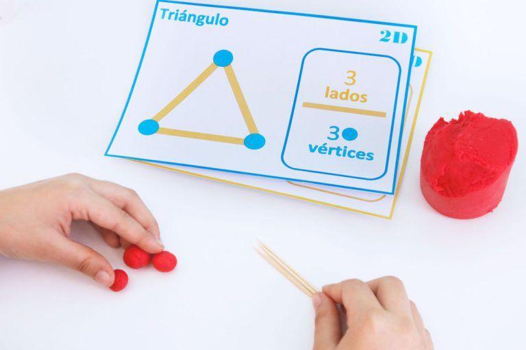 Lados Y Vértices De Palillos Y Plastilina Figuras Geometricas Para Niños Actividades De Figuras Geometricas Figuras Geometricas Primaria