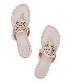 3a6b57ddc0810 Dulce De Leche Tory Burch Miller Sandal