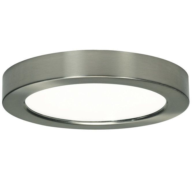 """Low Profile Led Recessed Lighting Inspiration 7"""" Led Simple Round Low Profile Ceiling Light  Led Module Junction Design Inspiration"""