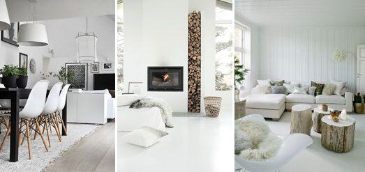 Scandinavian White Interior