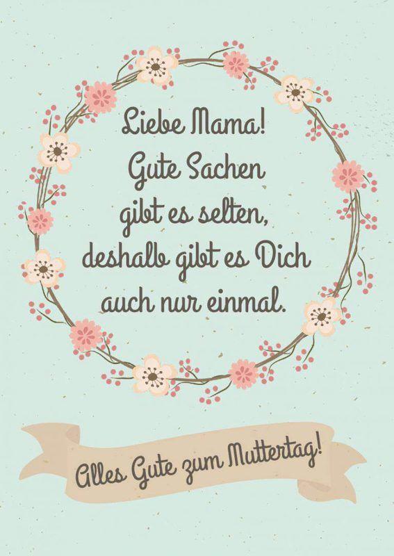 Muttertagsgedichte 20 Muttertagsgrüße Zum Verschicken