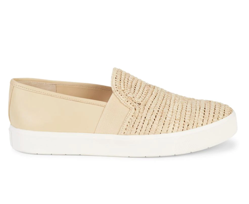 These Vince slip on sneakers are