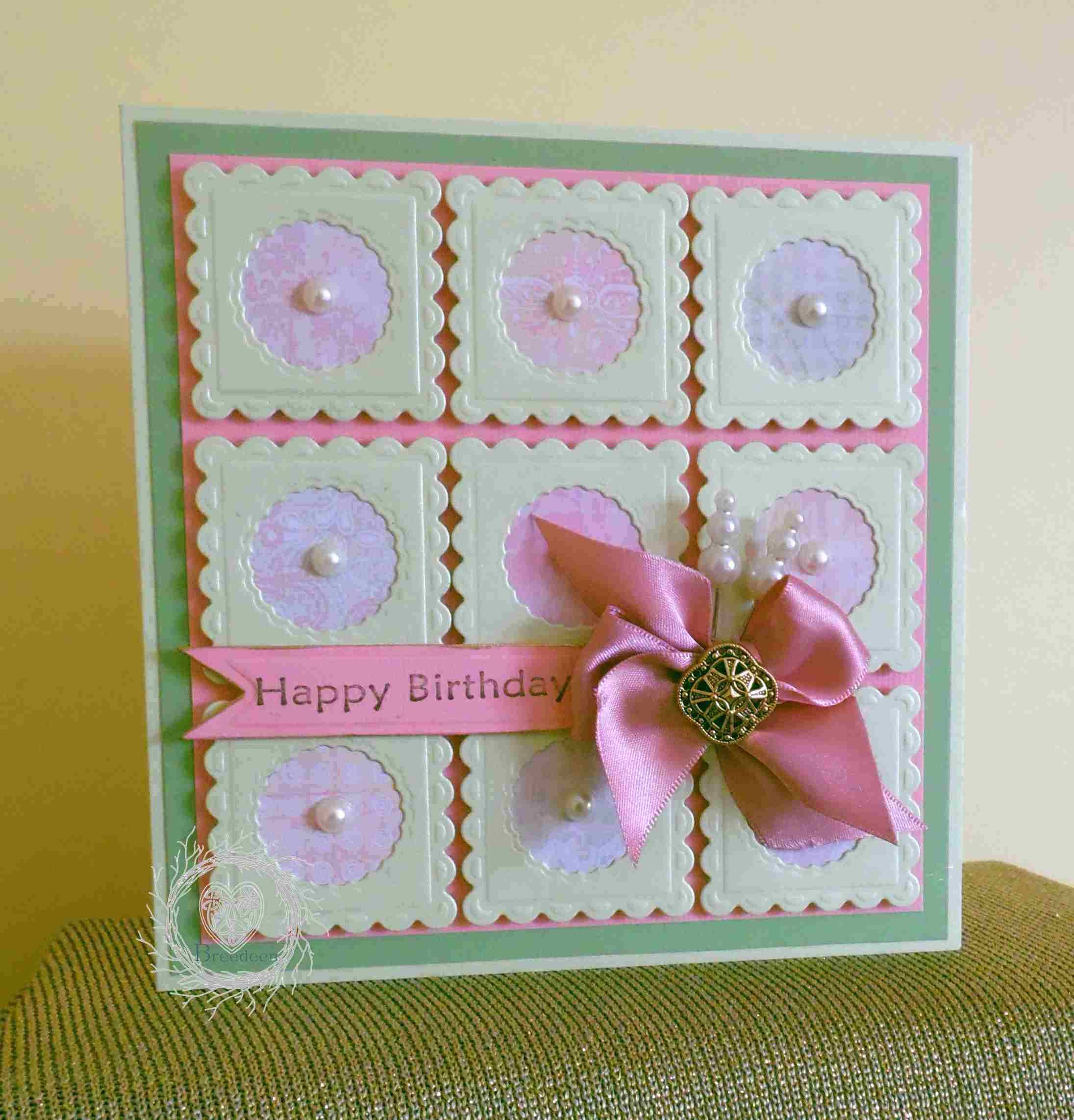 Birthday Card Creative Cards Pinterest Cards Scrapbooks And