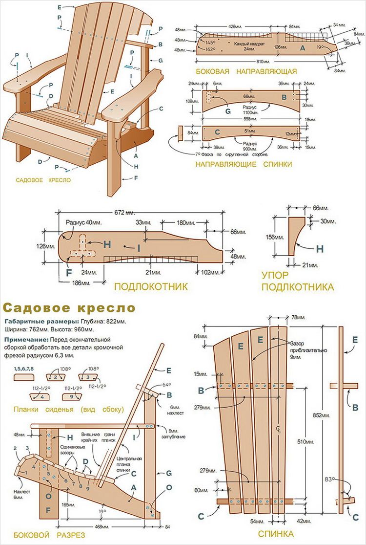 Plan Fauteuil Palette Garden Furniture With Own Hands Discussion On Liveinternet