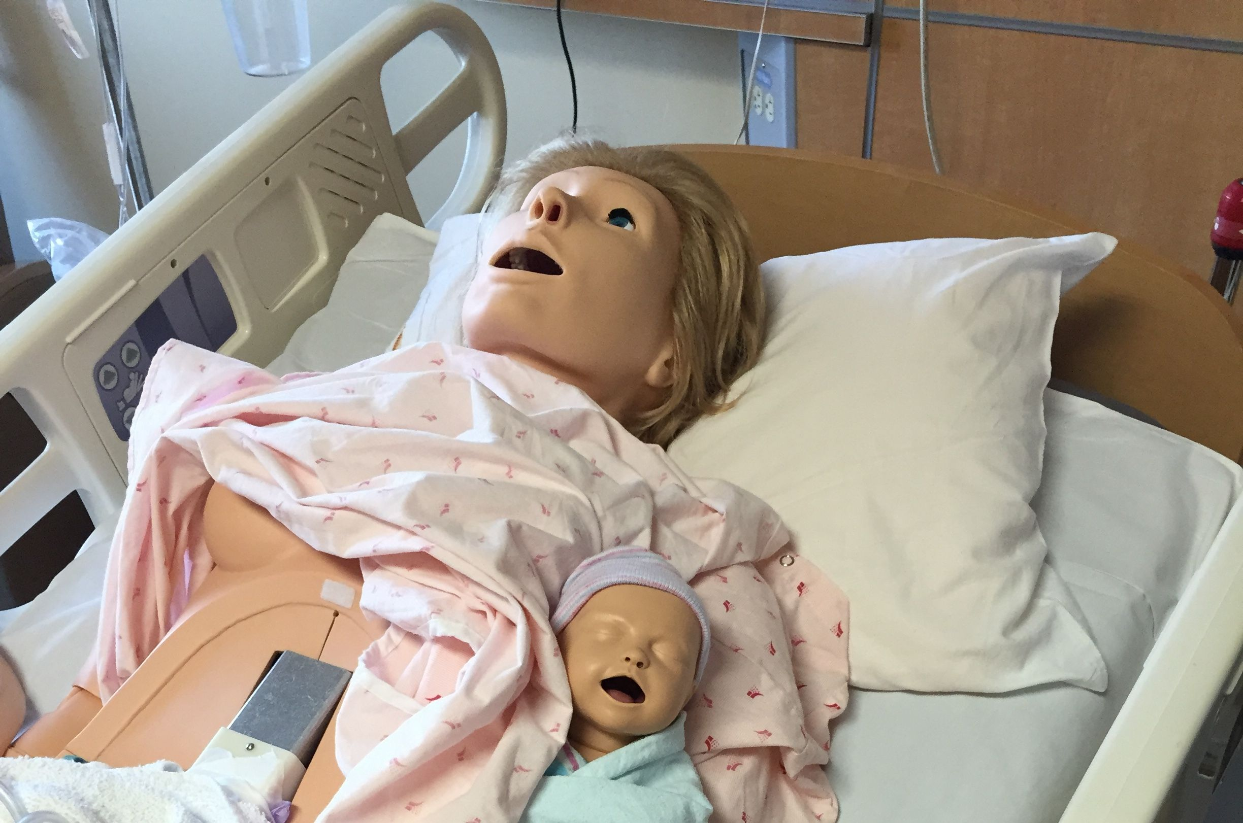 Day in the (hospital) life: Saving Noelle, a 'high-fidelity tetherless human patient'