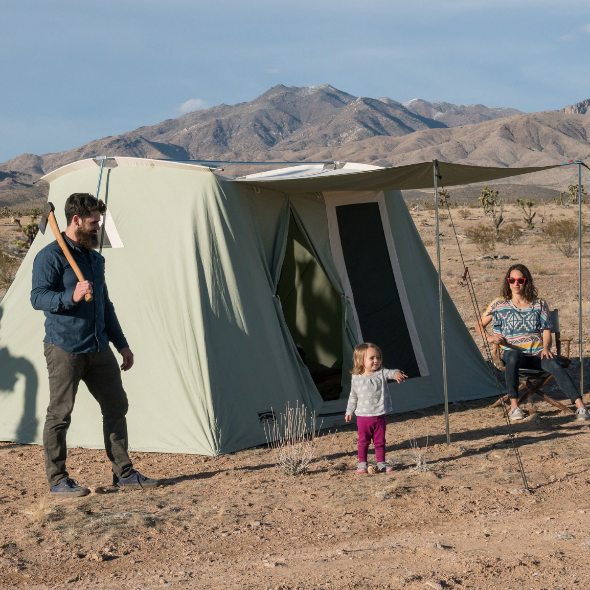 The Springbar Canvas Highline 8 Tent Includes Tent Awning W Carry Bag Pole Set W Carry Bag Steel Stakes W Carry Bag Awning R Tent Tent Awning Canvas Tent