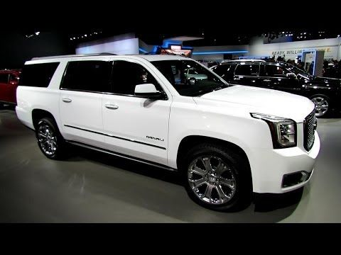 2015 Gmc Yukon Xl Denali Exterior And Interior Walkaround 2013