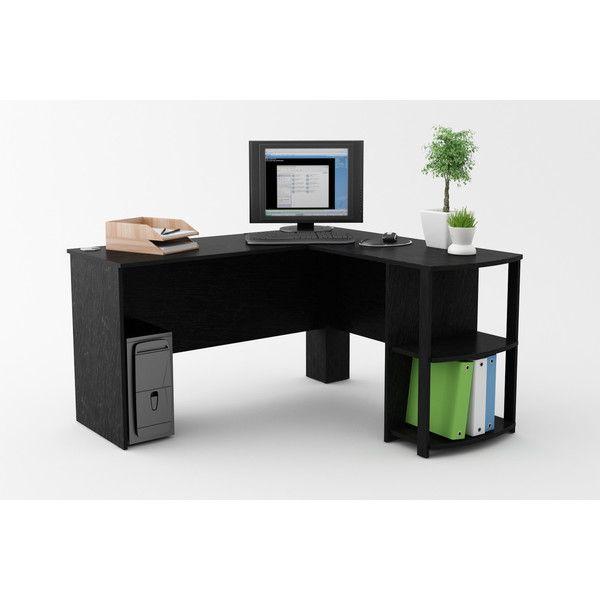 Wayfair For Ameriwood Industries Computer Desk With 2 Shelves Great Deals