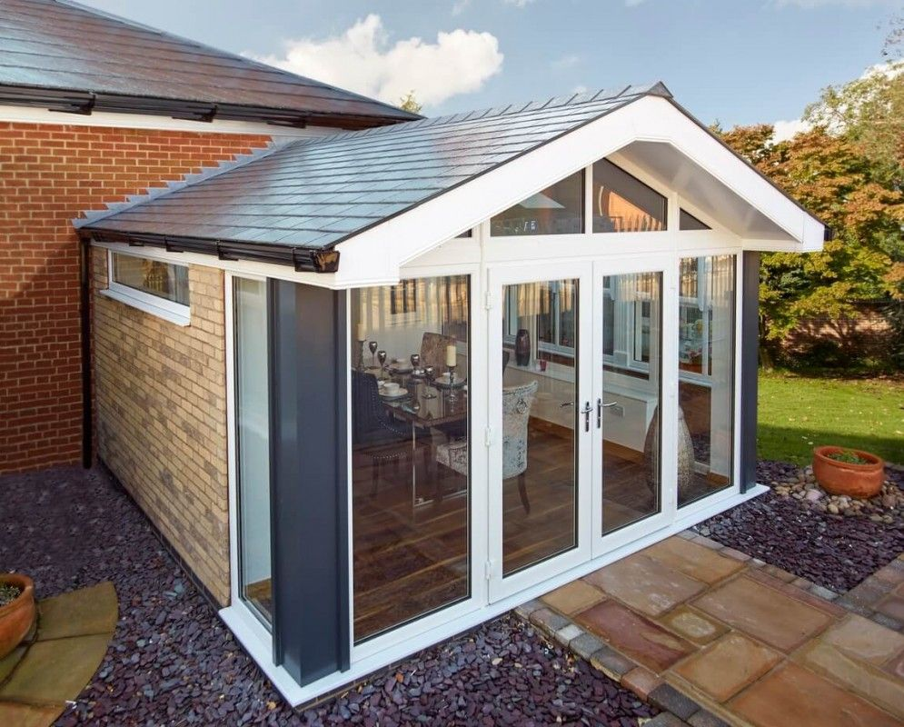 Like The Clerestry Window Conservatories Conservatory Roof Tiled Conservatory Roof Replacement Conservatory Roof
