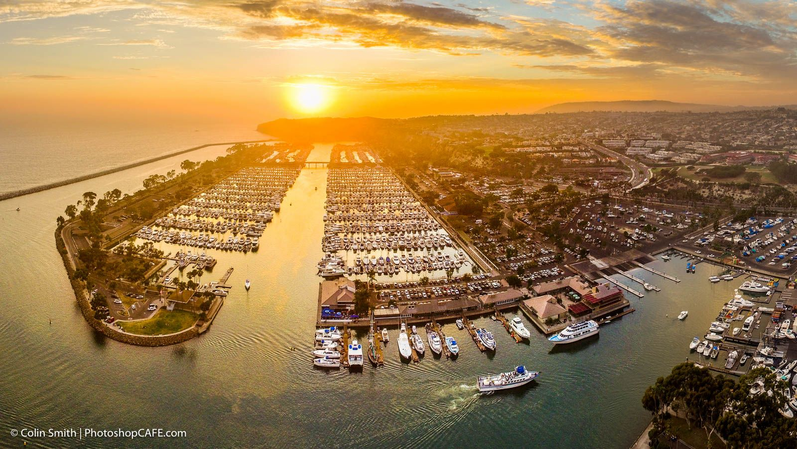 Aerial Drone Photography by Colin Smith of PhotoshopCAFE.com
