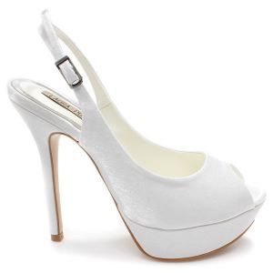 e9565f8c4c Sapato Scarpin Laura Porto Salto Alto Branco - SA970