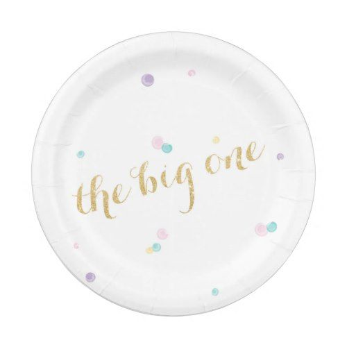Big One First Birthday Paper Plates | Party Paper Plates | Pinterest | Birthdays and Big  sc 1 st  Pinterest & Big One First Birthday Paper Plates | Party Paper Plates | Pinterest ...