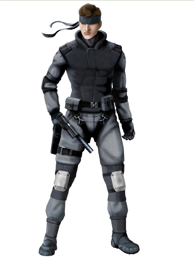Solid Snake By Jonneh86 On Deviantart Metal Gear Solid Metal Gear Character Poses