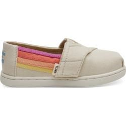 Photo of Toms Shoes Beige Multi Colors Canvas Classics For Toddlers – Size 21 TomsToms