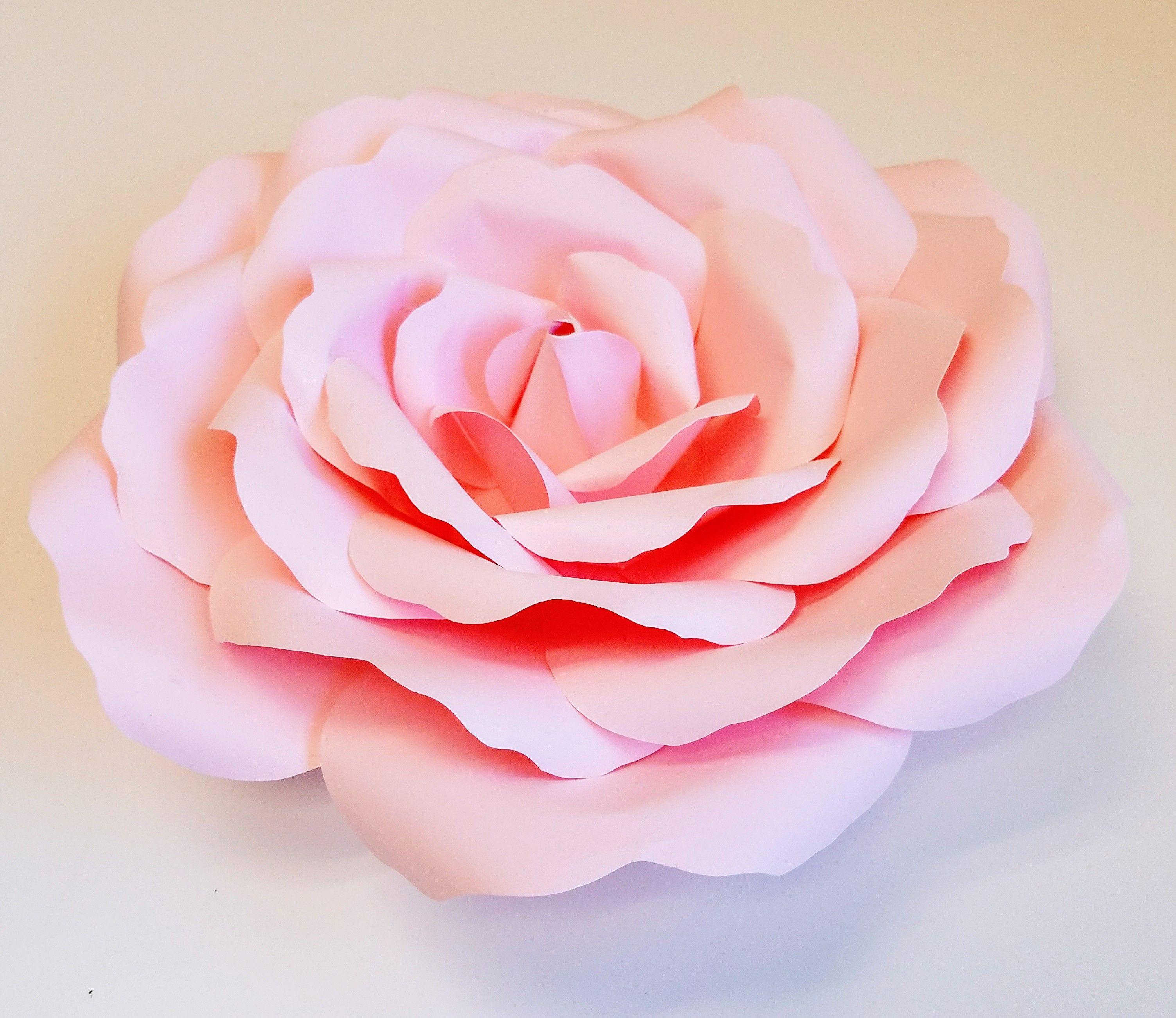 Розы из бумаги для открытки