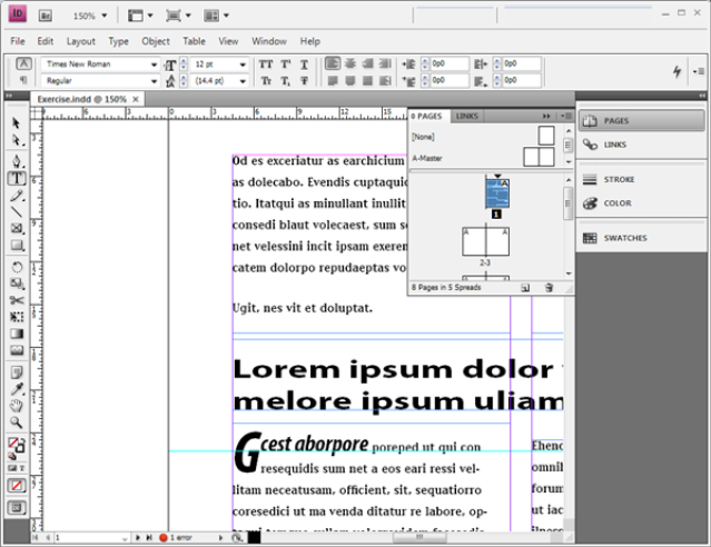 The importance of desktop in the modern office adobe indesign desktop publishing information adobe indesign cs4 with open document malvernweather Choice Image