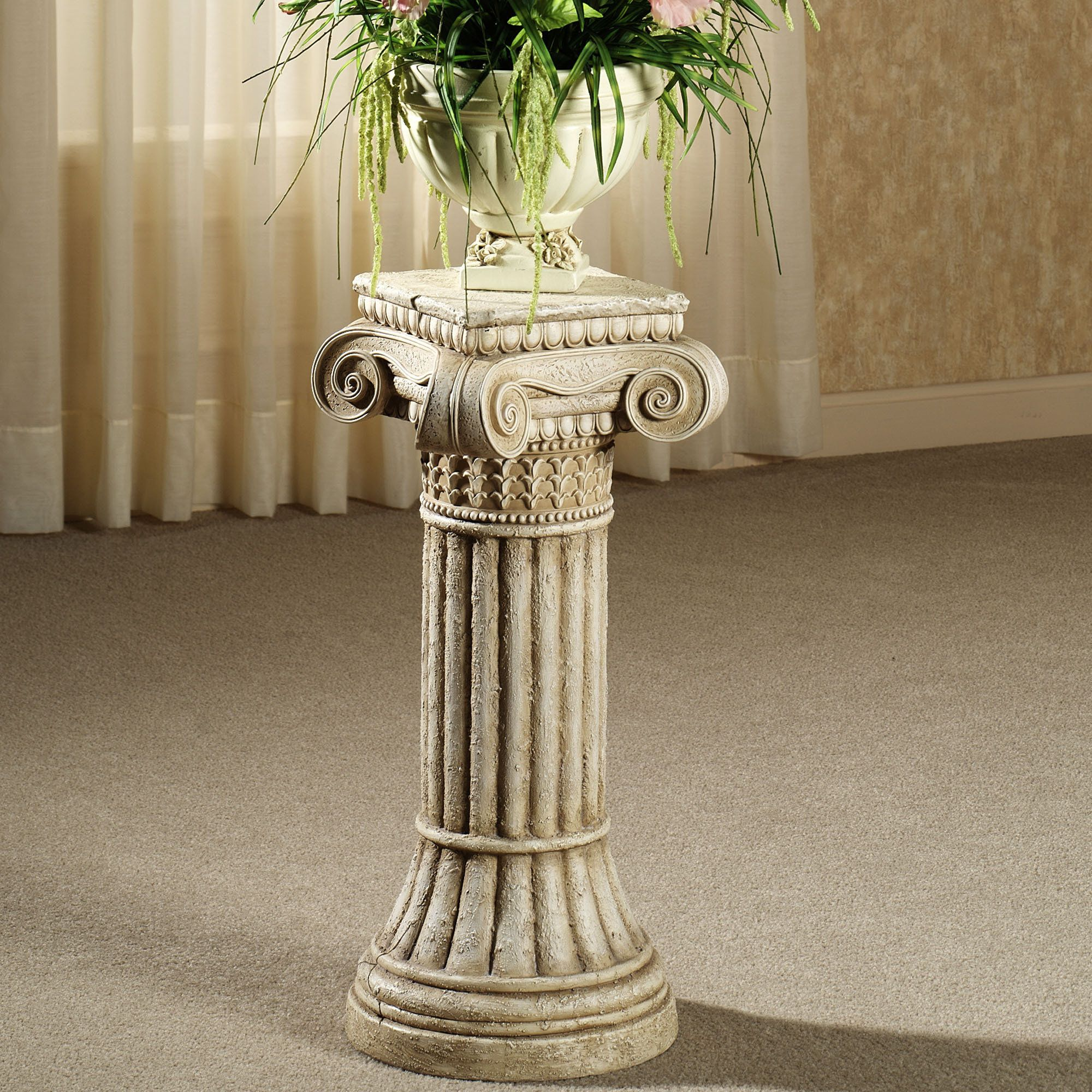 Ionic Column Pedestal Making The House A Home