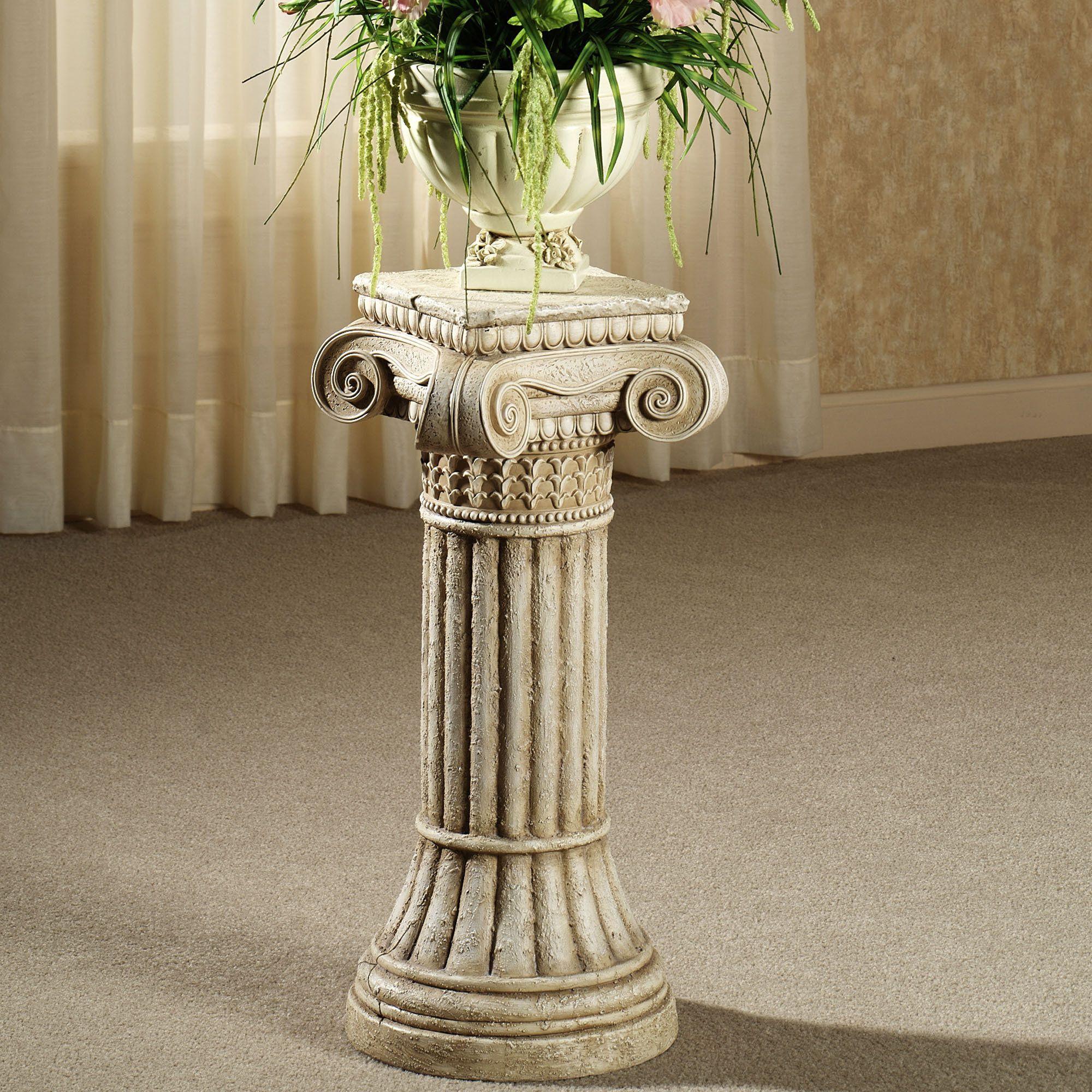 Ionic Column Pedestal