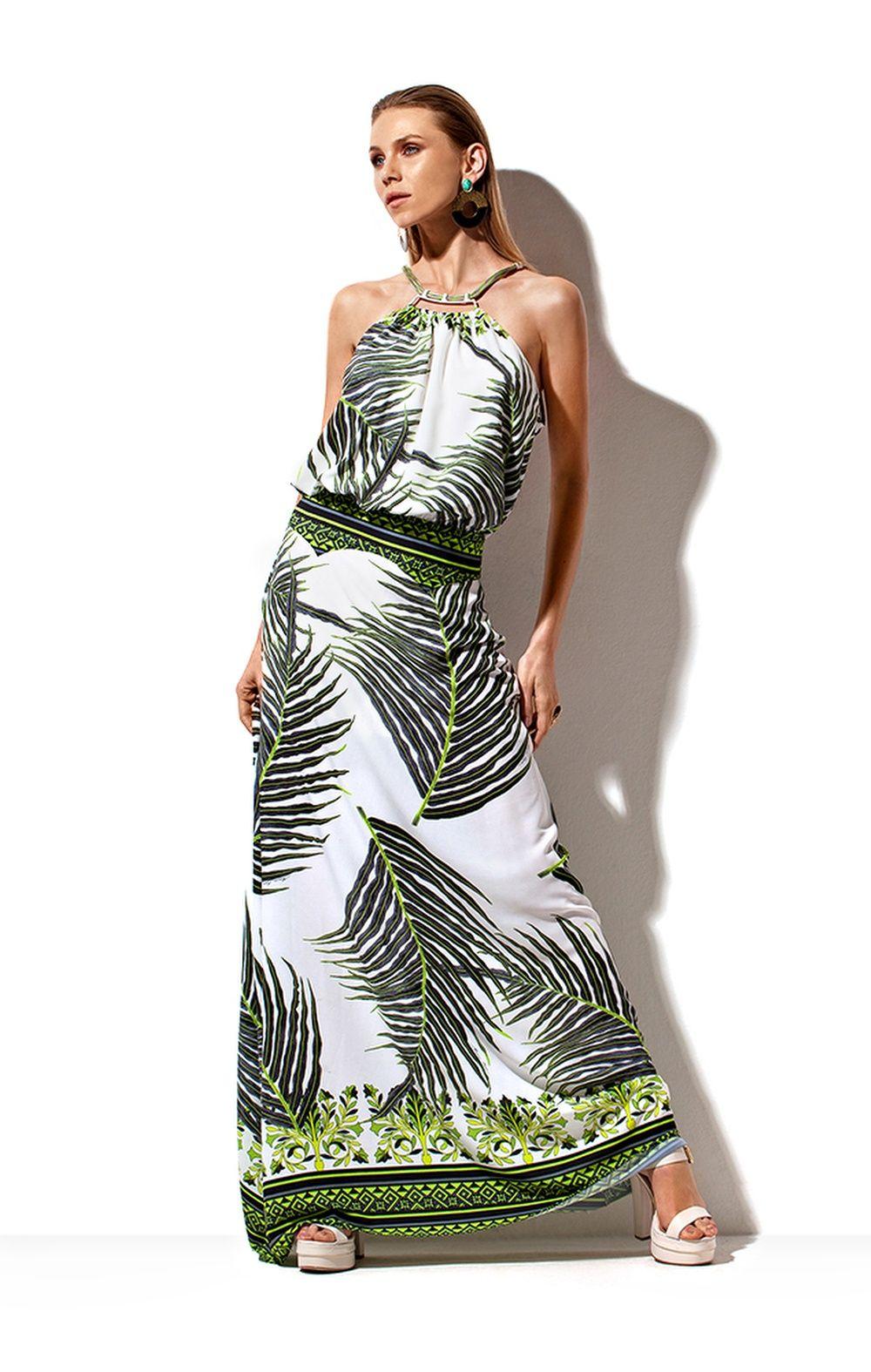 7b57fbbdf Vestido Longo Detalhe Metal Morena Rosa | verão 16 17 em 2019 ...