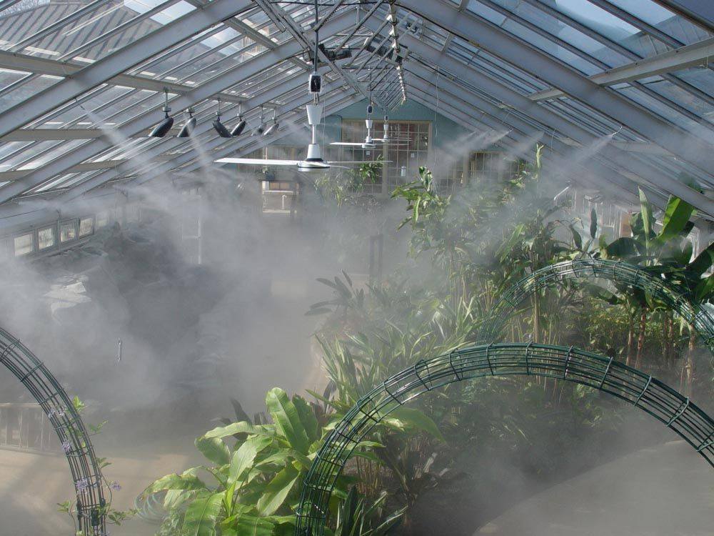 Diy Greenhouse Misting System