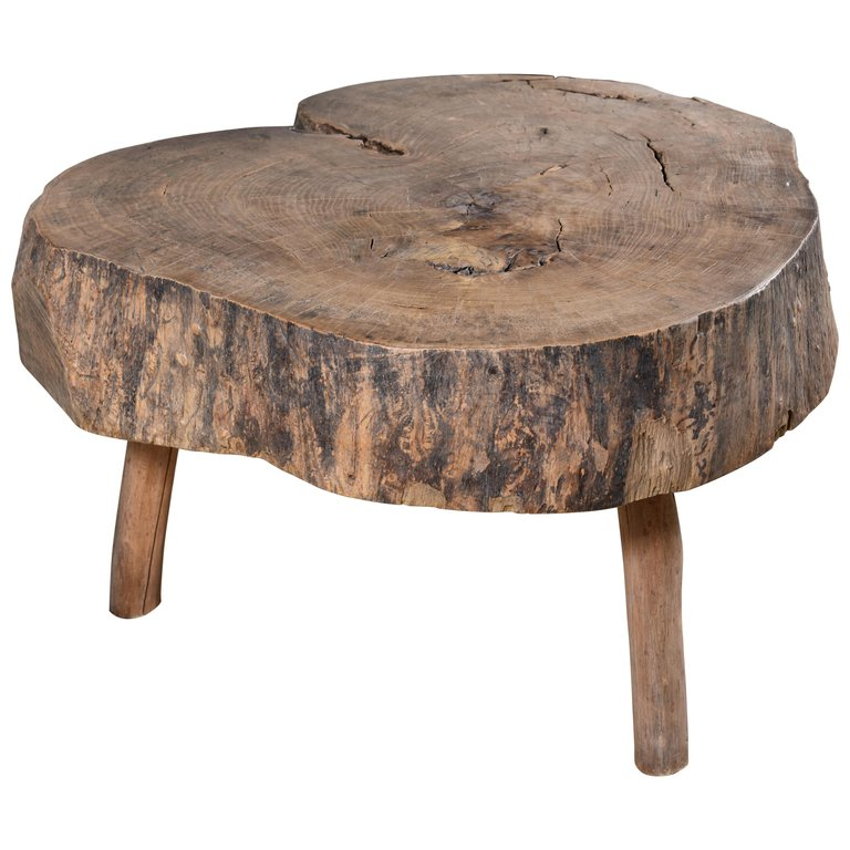 1stdibs Wood Primitive French Side Table Wood Diy Furniture Wood Table