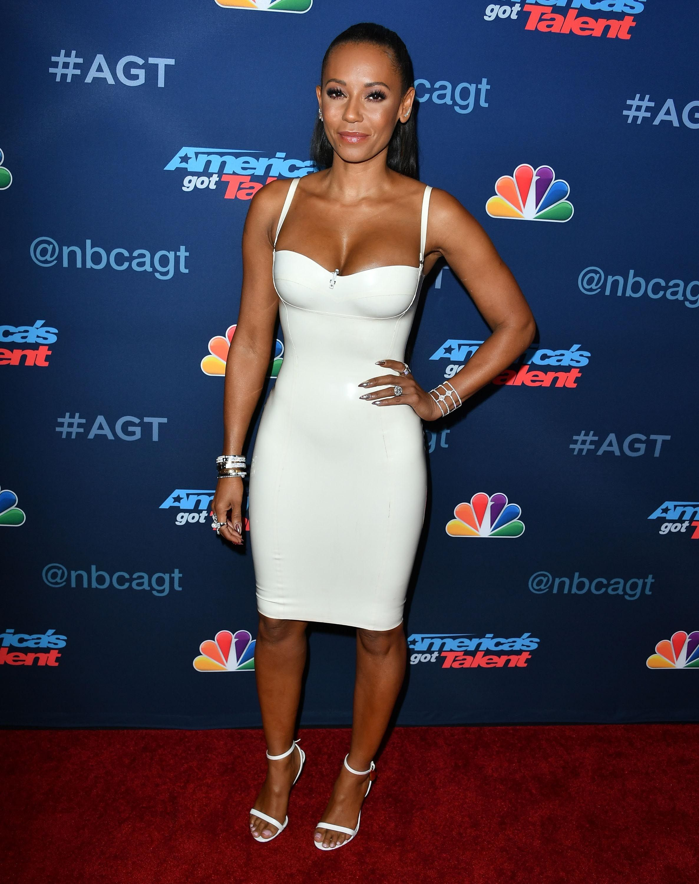 d5e547931 Melanie Brown arrives at the America's Got Talent' Season 11 ...