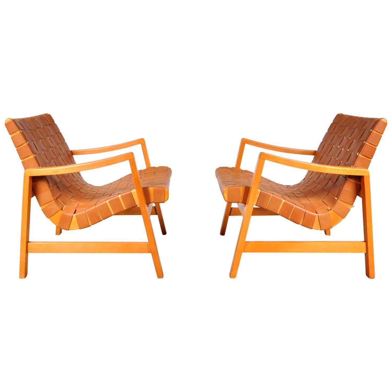 Jens Risom Side Chair Pair Of Two Vostra Easy Chairs By Jens Risom For Knoll Usa In