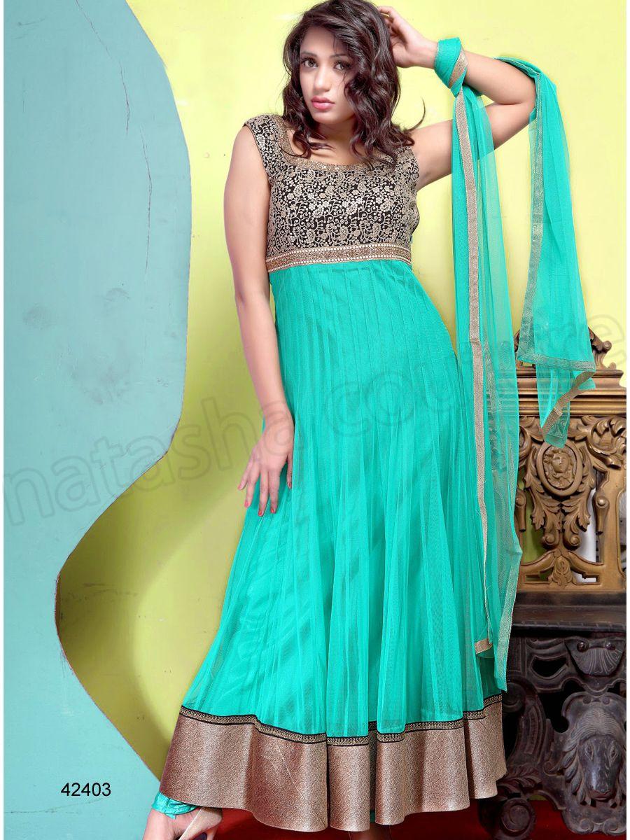 Designer Salwar Kameez#Blue #Indian Wear#Desi Fashion #Natasha ...