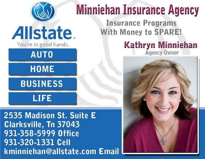 Ad Design Examples Allstate Insurance Kathryn Minniehan Image