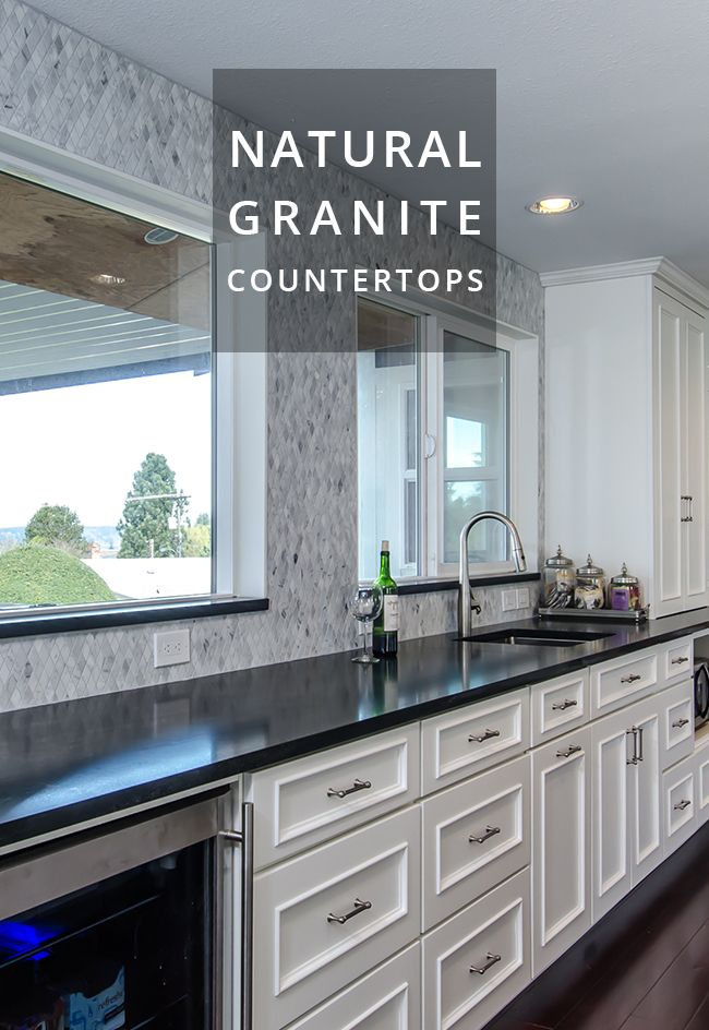 Minosa Granite Countertops From Pental Surfaces Built By New Leaf Cabinets Counters Tacoma Wa