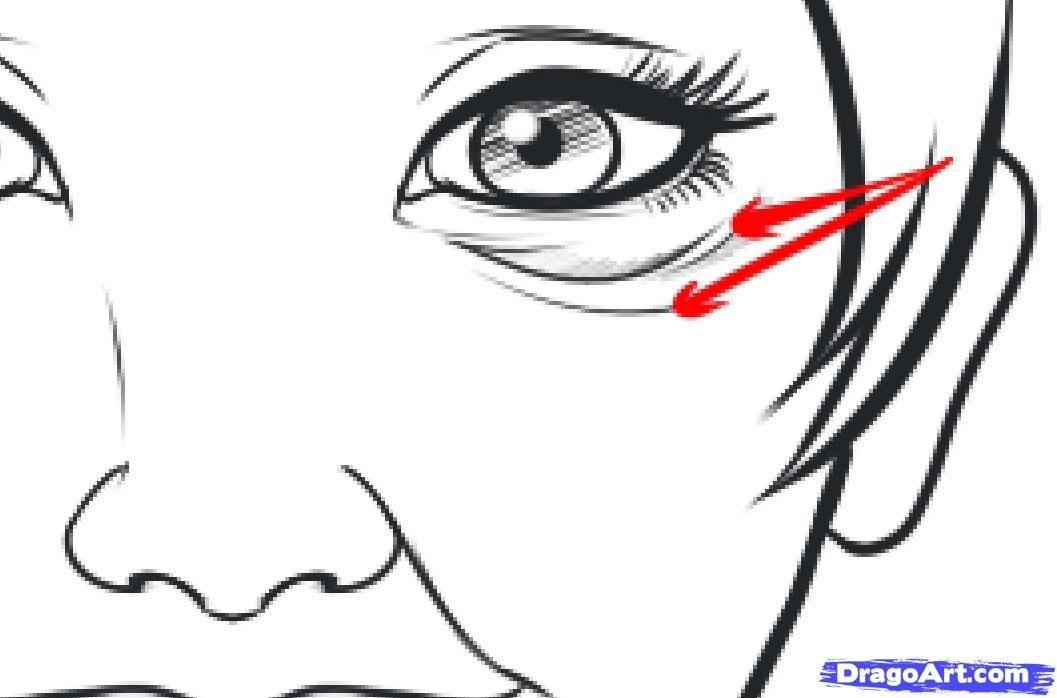 how to make the bags under your eyes bigger