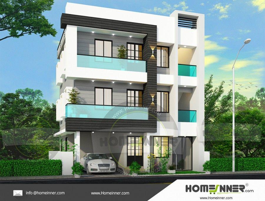 2567 Sq Ft 5bhk Three Floor House Plan Duplex House Plans House