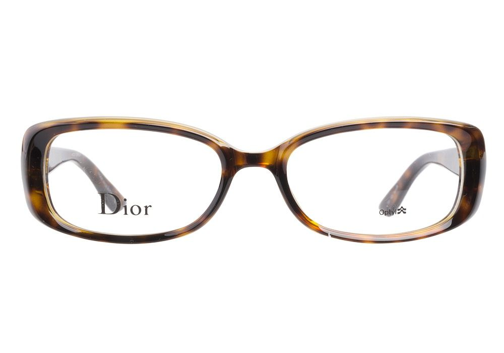 Christian dior 3220 791 havana eyeglasses get low prices